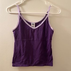 Old Navy purple tank top